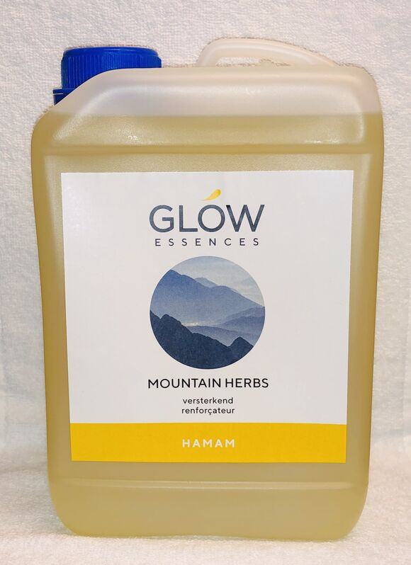 Essence voor hamam 3L mountain herbs
