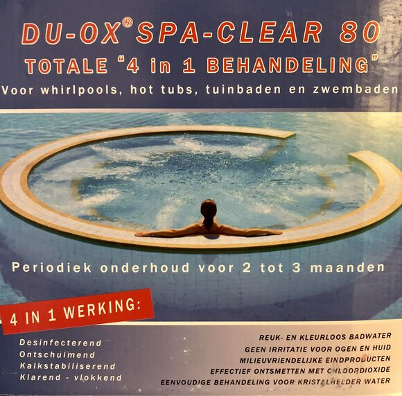 Du Ox spa clear 80